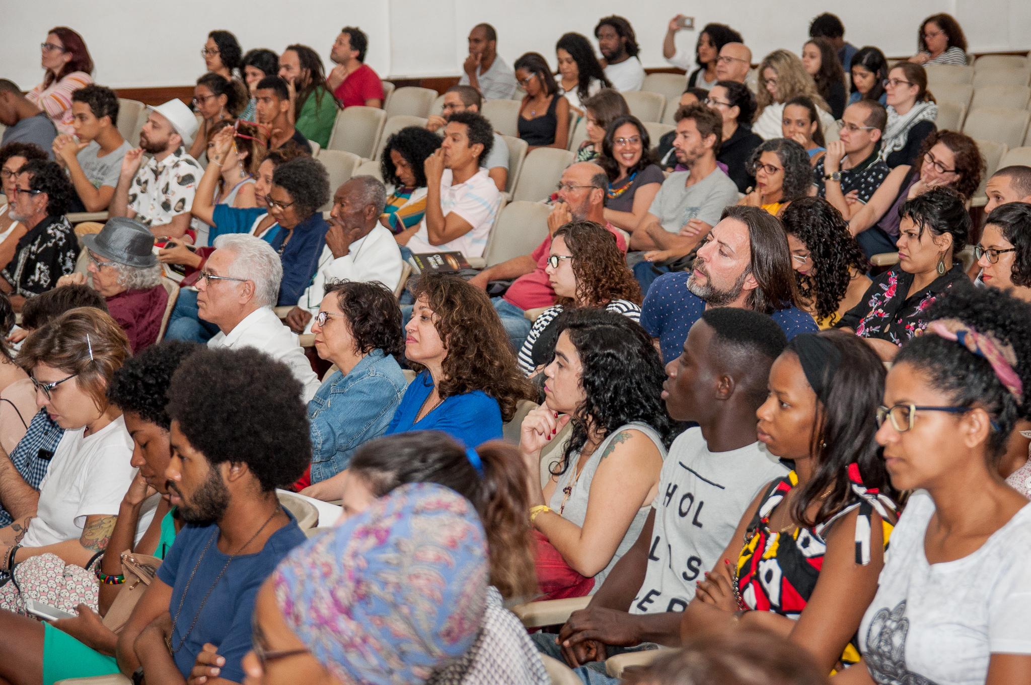 Plateia do Enecult, encontro sobre cultura