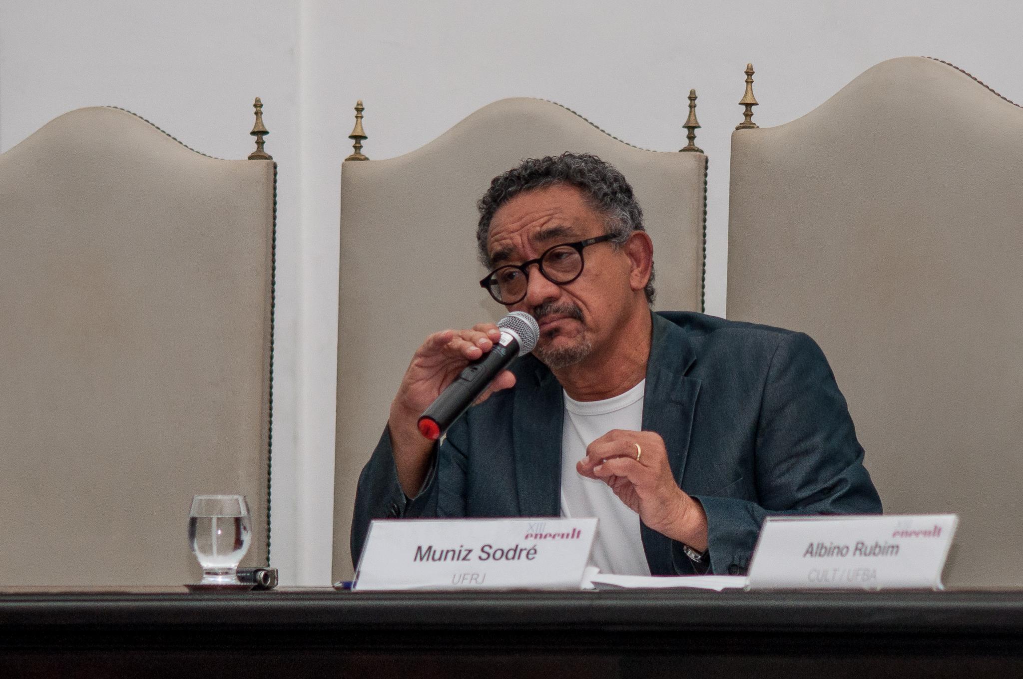 Muniz Sodre no Enecult 2017, encontro multidiciplinar em cultura