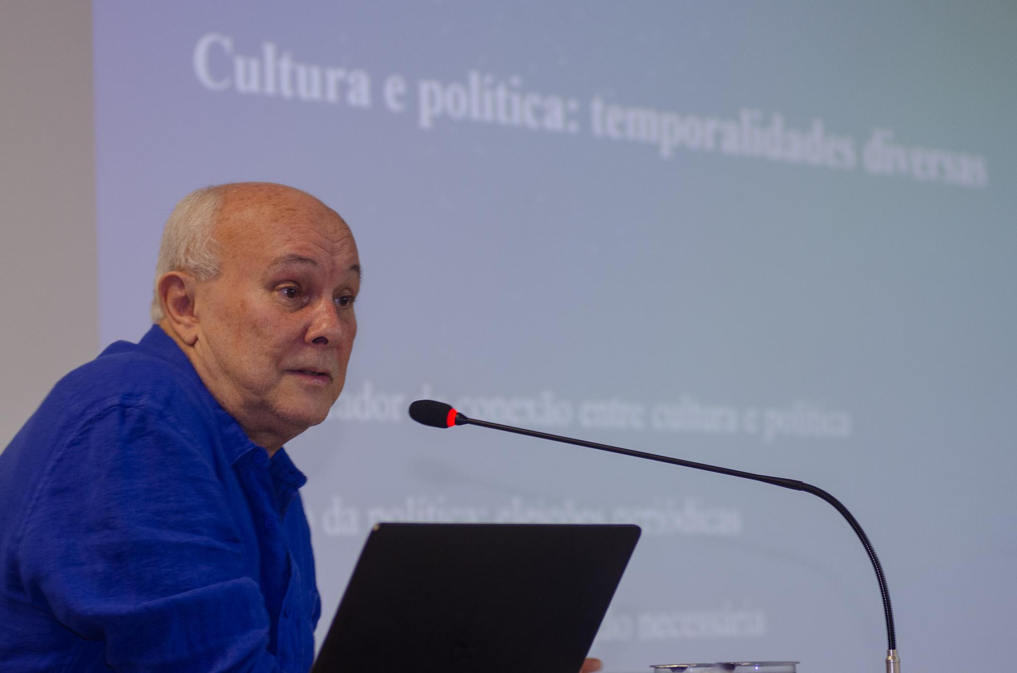 Albino Rubim discute problemáticas vigentes da gestão cultural