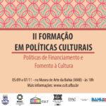 FLYER_II Curso Politicas Culturais